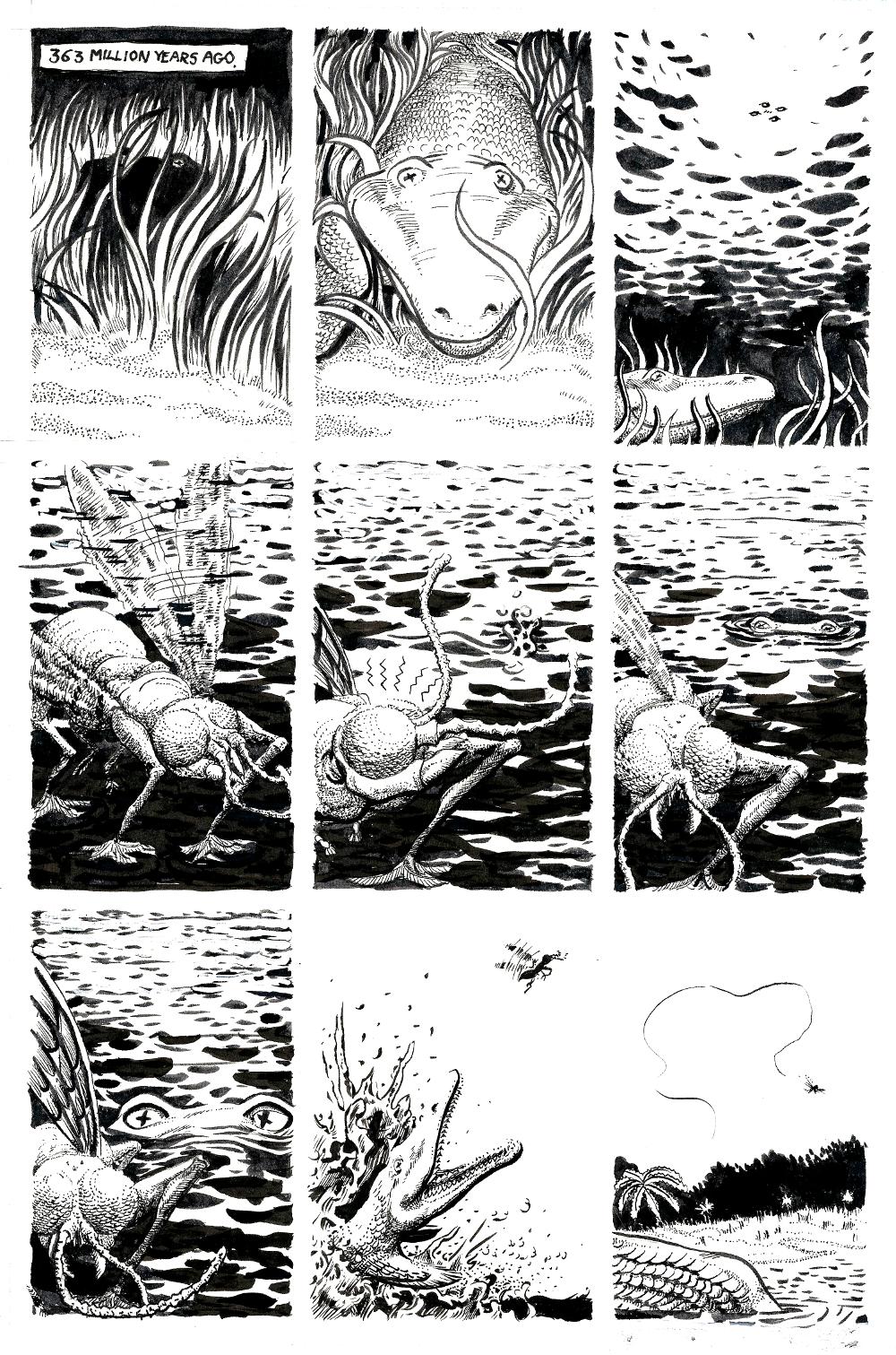 Evolution – Page 1